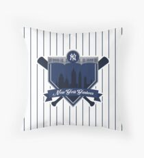 New York Yankees - Badge / Alternate Logo Throw Pillow
