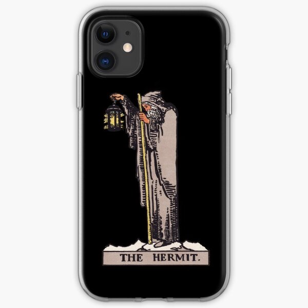 Tarot Card : The Hermit iPhone Soft Case
