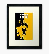 DOCTOR FATE Framed Print