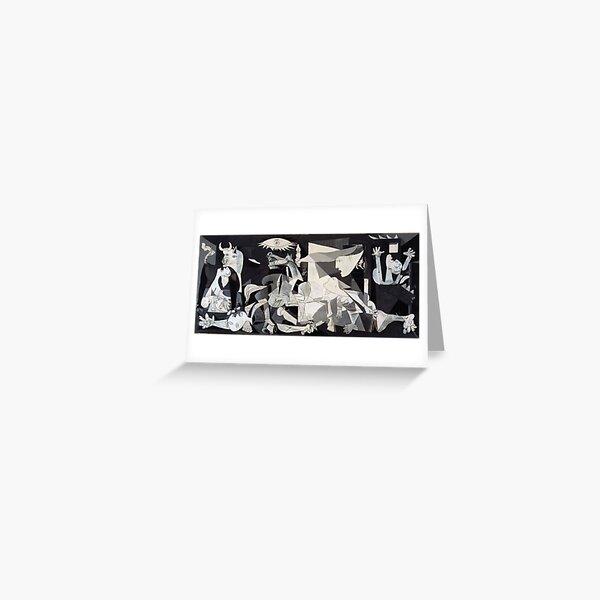 Pablo Picasso Guernica 1937 Original Artwork Reproduction Greeting Card