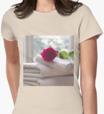 Roses and Towels in the Bathroom T-Shirt