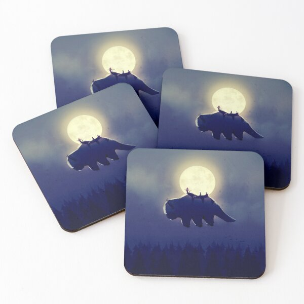 The End of All Things - Night Version Coasters (Set of 4)