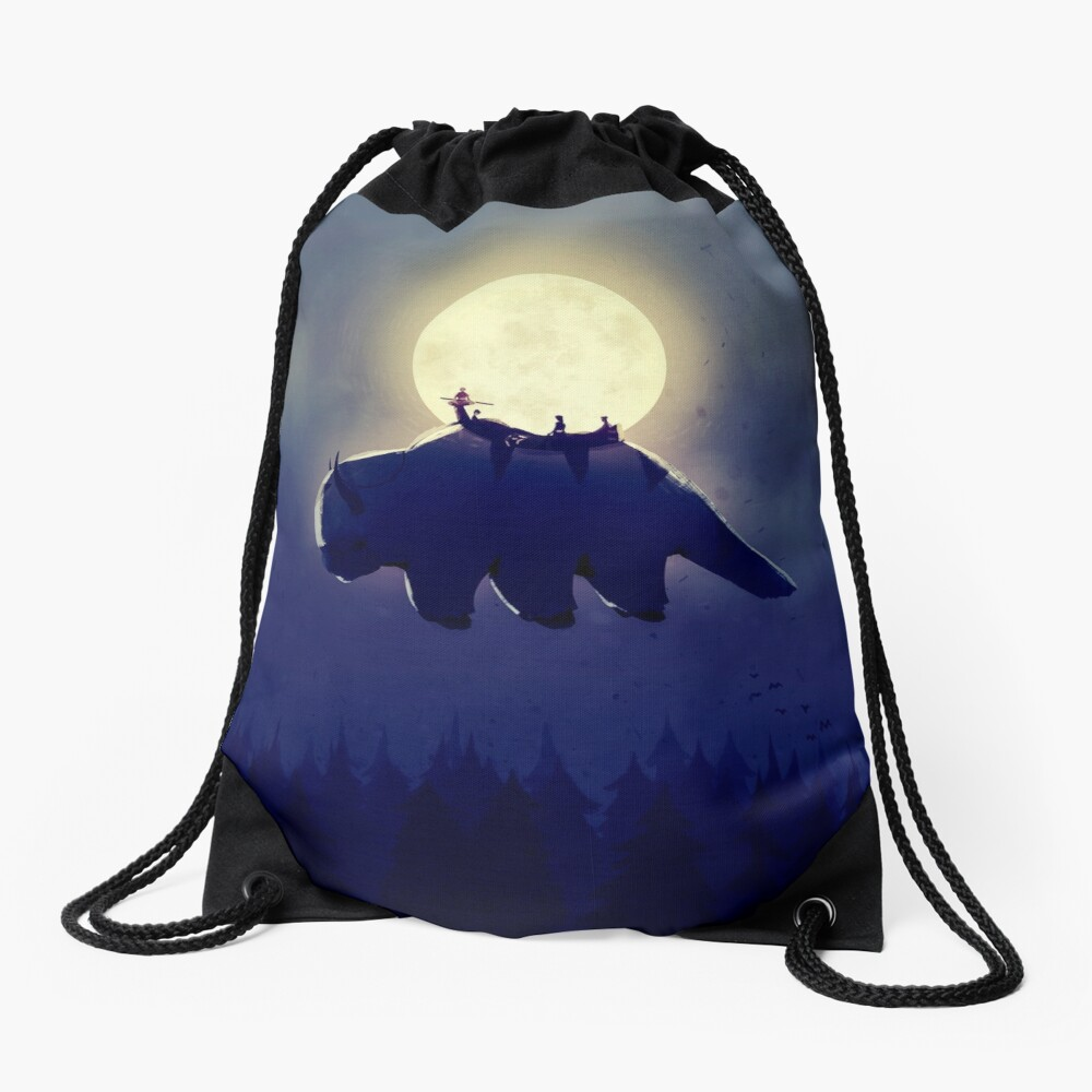 The End of All Things - Night Version Drawstring Bag