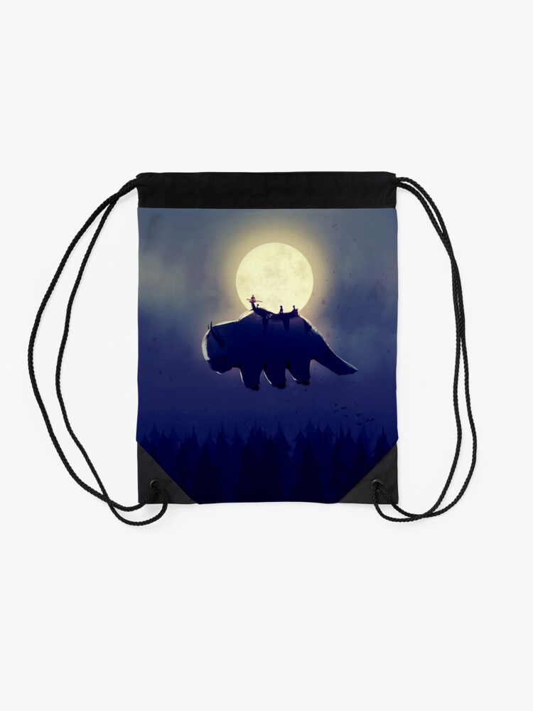 Alternate view of The End of All Things - Night Version Drawstring Bag