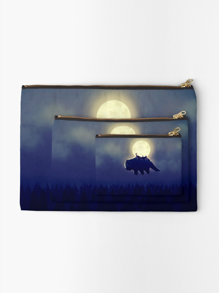 Alternate view of The End of All Things - Night Version Zipper Pouch