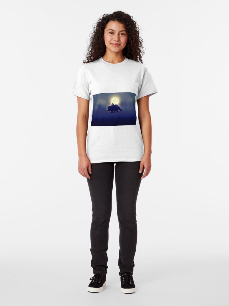 Alternate view of The End of All Things - Night Version Classic T-Shirt