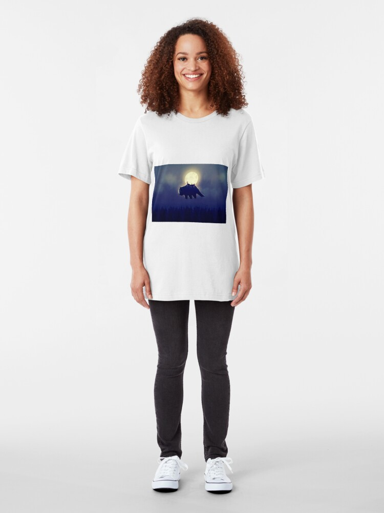 Alternate view of The End of All Things - Night Version Slim Fit T-Shirt