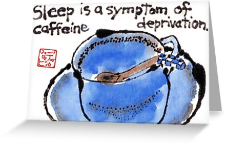 Caffeine Deprivation by dosankodebbie