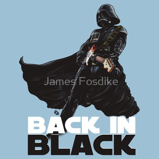 TShirtGifter presents: Back in Black.
