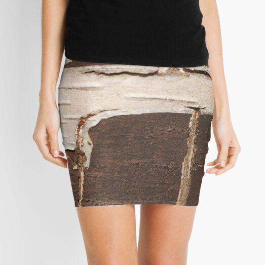 Birch Bark Mini Skirt