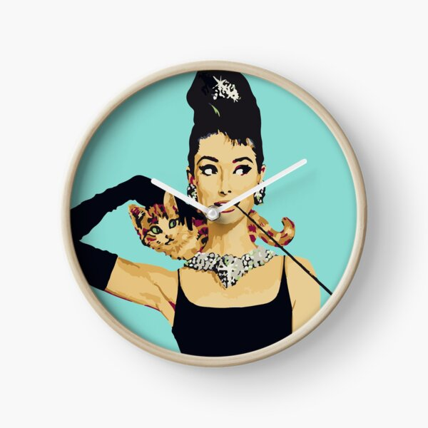 Breakfast at Tiffanys | Audrey Hepburn Jewellery Colour Clock