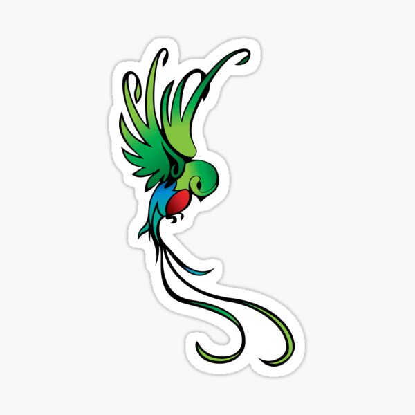 Quetzal Pegatina