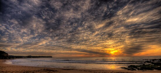 Glory #2 - Warriewood Beach , Sydney (35 Exposure HDR Panoramic) The HDR Experience  by Philip Johnson