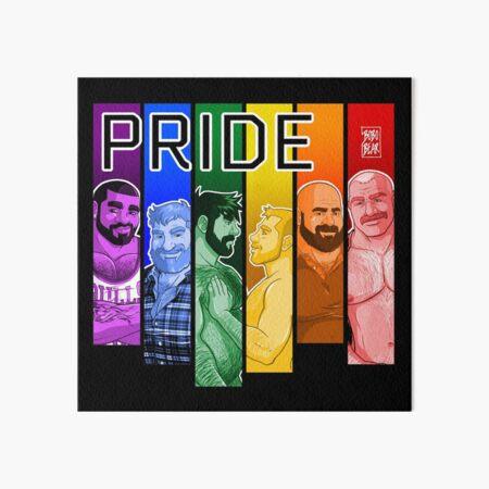 GAY PRIDE 2019 Art Board Print