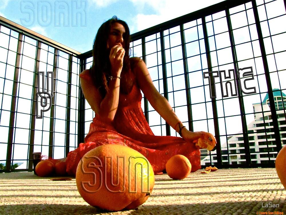 Soak Up The Sun by LaSan