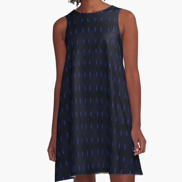 Mid Nite Blue A-Line Dress
