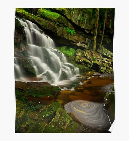 Elakala Falls 2: Swirl Poster