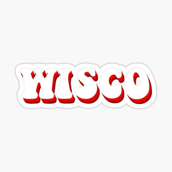 Wisconsin Retro Sticker