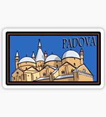 Padova Steamer Trunk Style Sticker