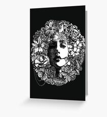 Venus de Flora Greeting Card