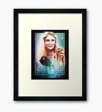 Lady of Light Framed Print
