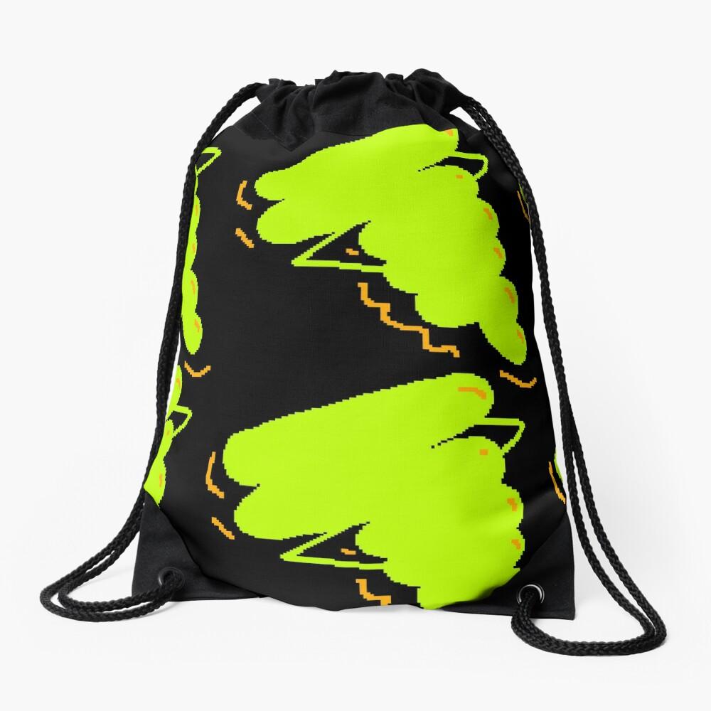 Electric Gak Drawstring Bag