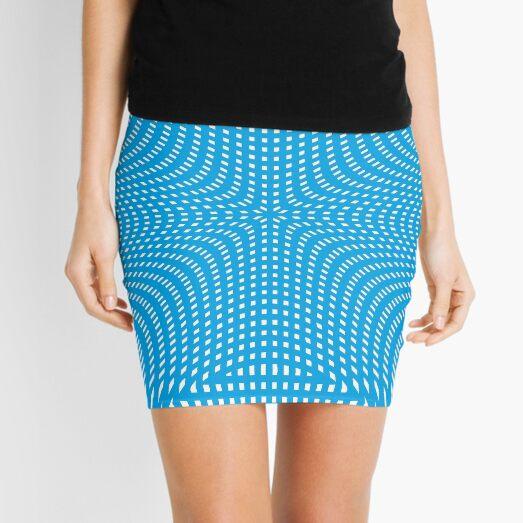 #Pattern, #illusion, #tile, #art, repetition, abstract, design, decoration, mosaic Mini Skirt
