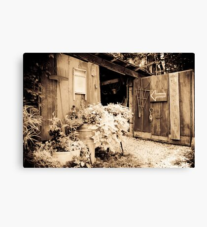 The Antique Barn Canvas Print