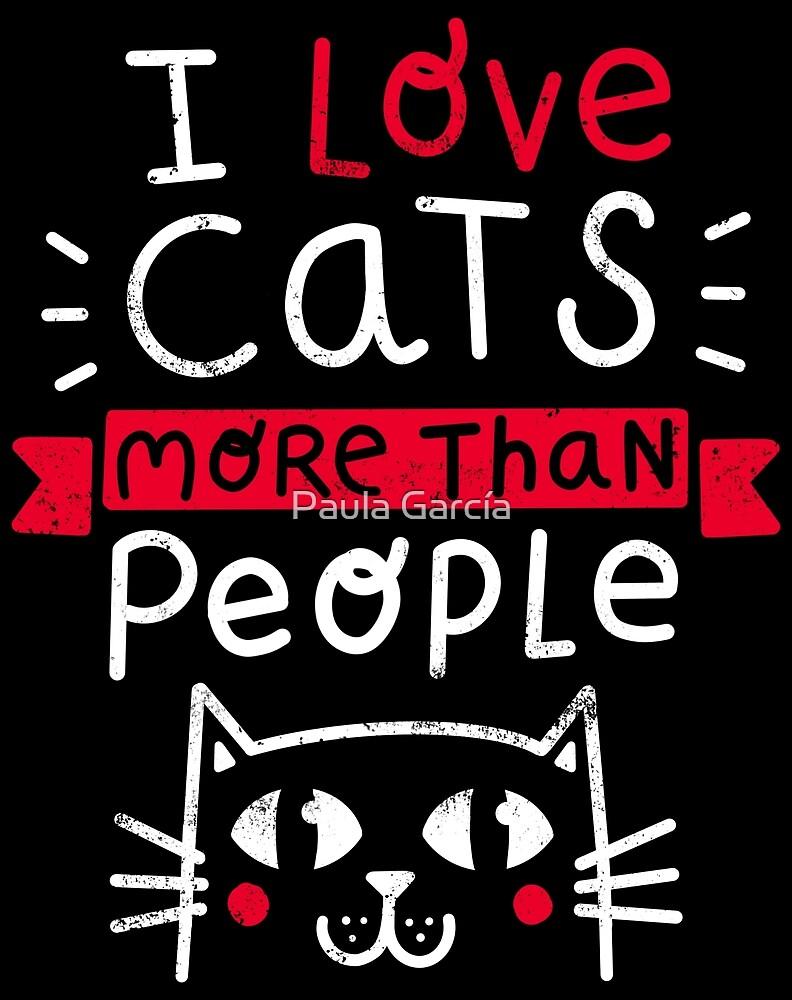 «Cat lover» de Paula García