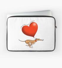 Stolen Heart - brindle hound Laptop Sleeve