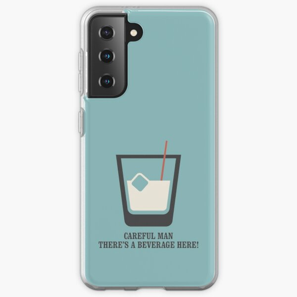The Big Lebowski - White Russian - Careful Man, There's a Beverage Here! Samsung Galaxy Soft Case