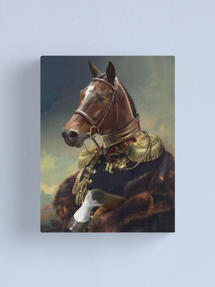 Alternate view of Horse Portrait Canvas Print