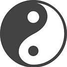 Ying Yang Chinese Symbol  by scooterbaby