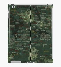 Goddesses of Venus: A topographic Map iPad Case/Skin