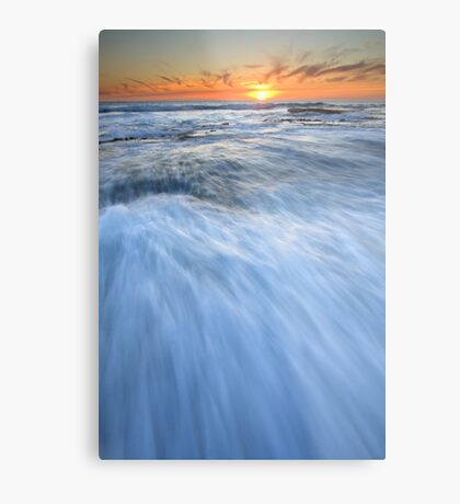 Run... Into the Sun... Metal Print