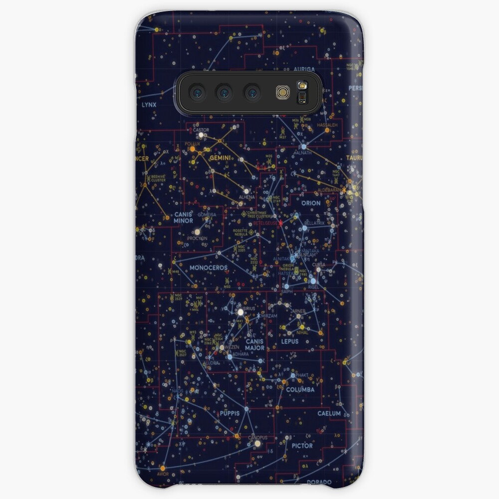 All the stars you can see from Earth Case & Skin for Samsung Galaxy