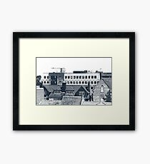 Solihull Rooftops Framed Print