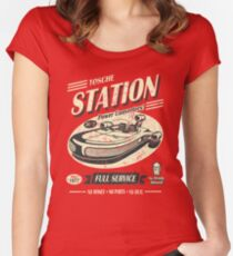 Tosche Station Fitted Scoop T-Shirt