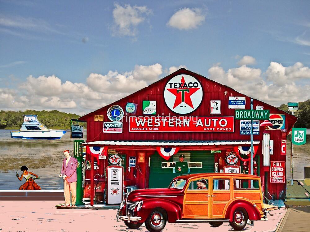 Western Auto Parker,Florida by crimsontideguy