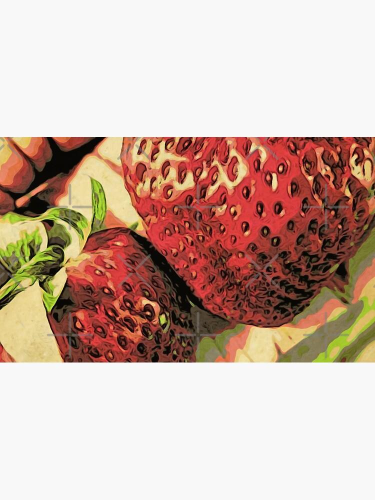 Strawberry Season - Fruit Lover Gift - Art Photography by OneDayArt