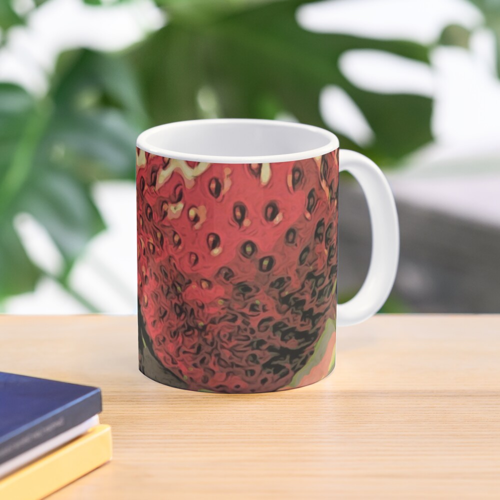 Strawberry Season - Fruit Lover Gift - Art Photography Mug