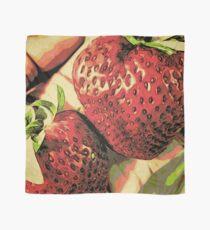 Strawberry Season - Fruit Lover Gift - Art Photography Scarf