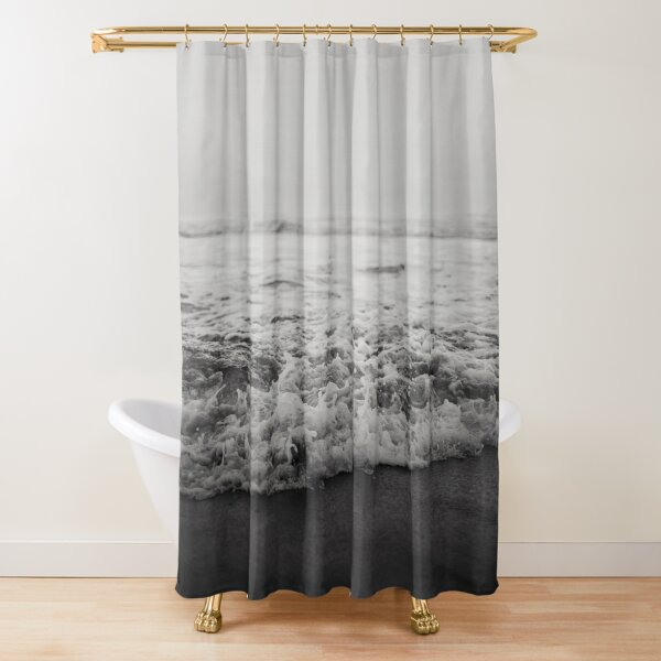 Ocean Crash Shower Curtain