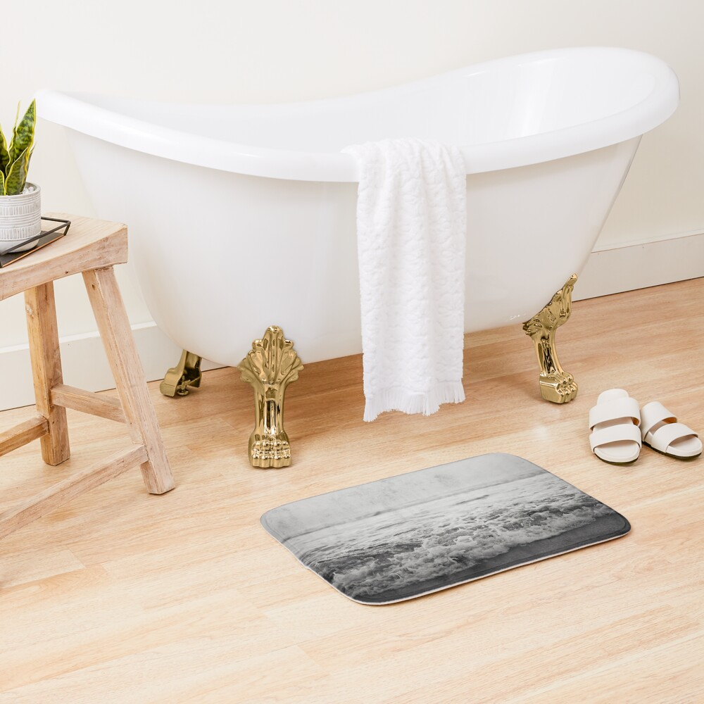 Ocean Crash Bath Mat