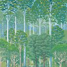 Flooded Gum Forest - Raising funds for Bush Heritage Australia by Paula Peeters