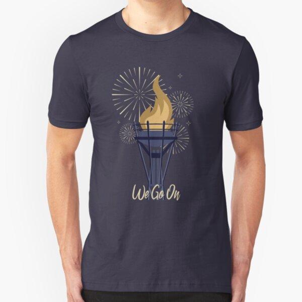 We Go On - IllumiNations Slim Fit T-Shirt