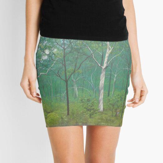 Scribbly Gum Woodland - Raising funds for Bush Heritage Australia Mini Skirt