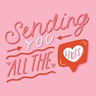 Sending You All the Likes by doodlebymeg