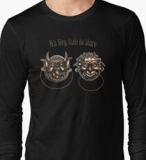 It's Very Rude to Stare Labyrinth Knockers Long Sleeve T-Shirt