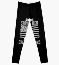 Strongest Men Are Elevator Mechanics Leggings